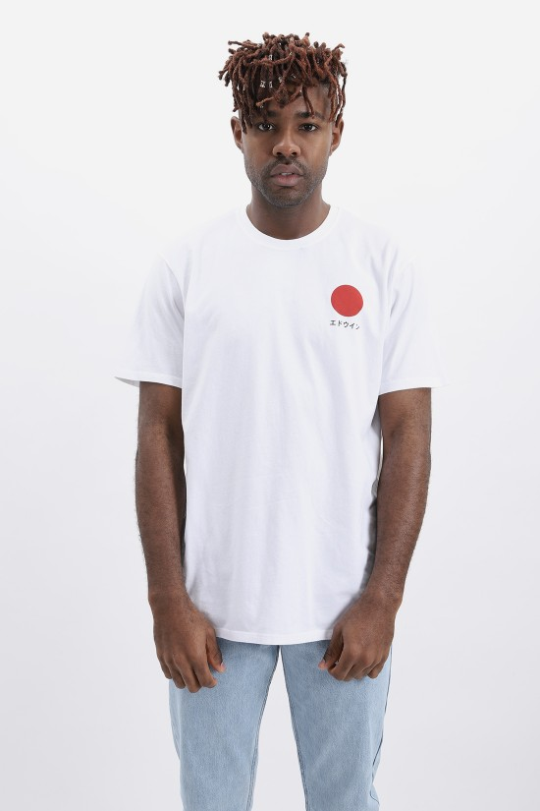 EDWIN / Japanese sun tshirt White