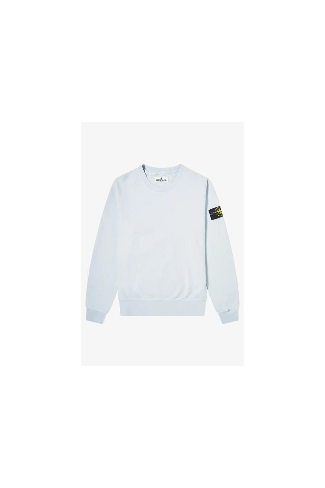 STONE ISLAND / 63051 crewneck sweater v0041 Cielo