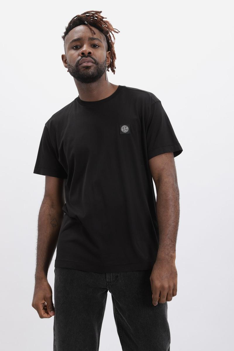 24113 logo t shirt v0029 Nero