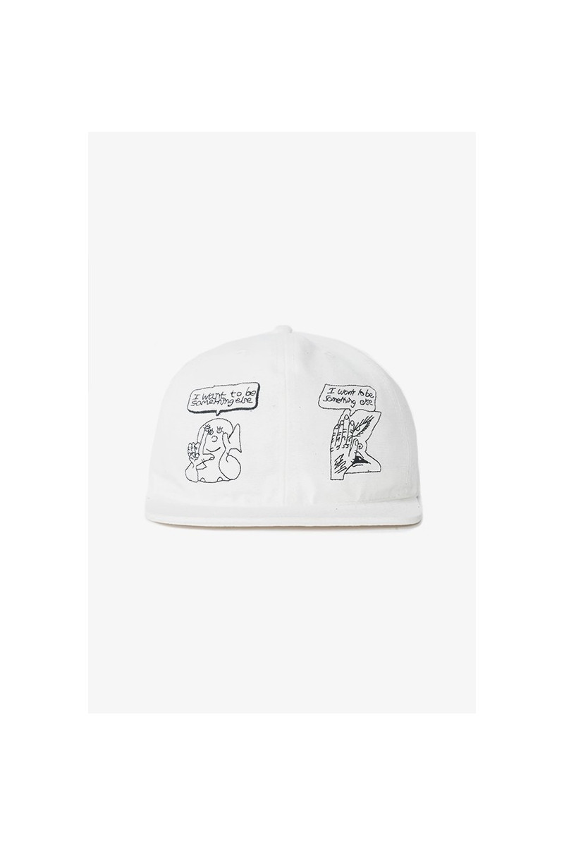 Bd leon sadler strap back Cream