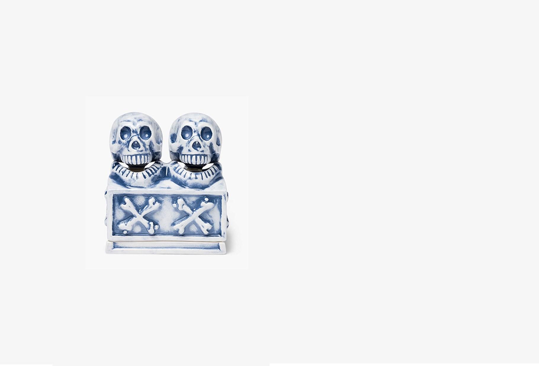 NEIGHBORHOOD / Booze dual skull / ce-incense Blue