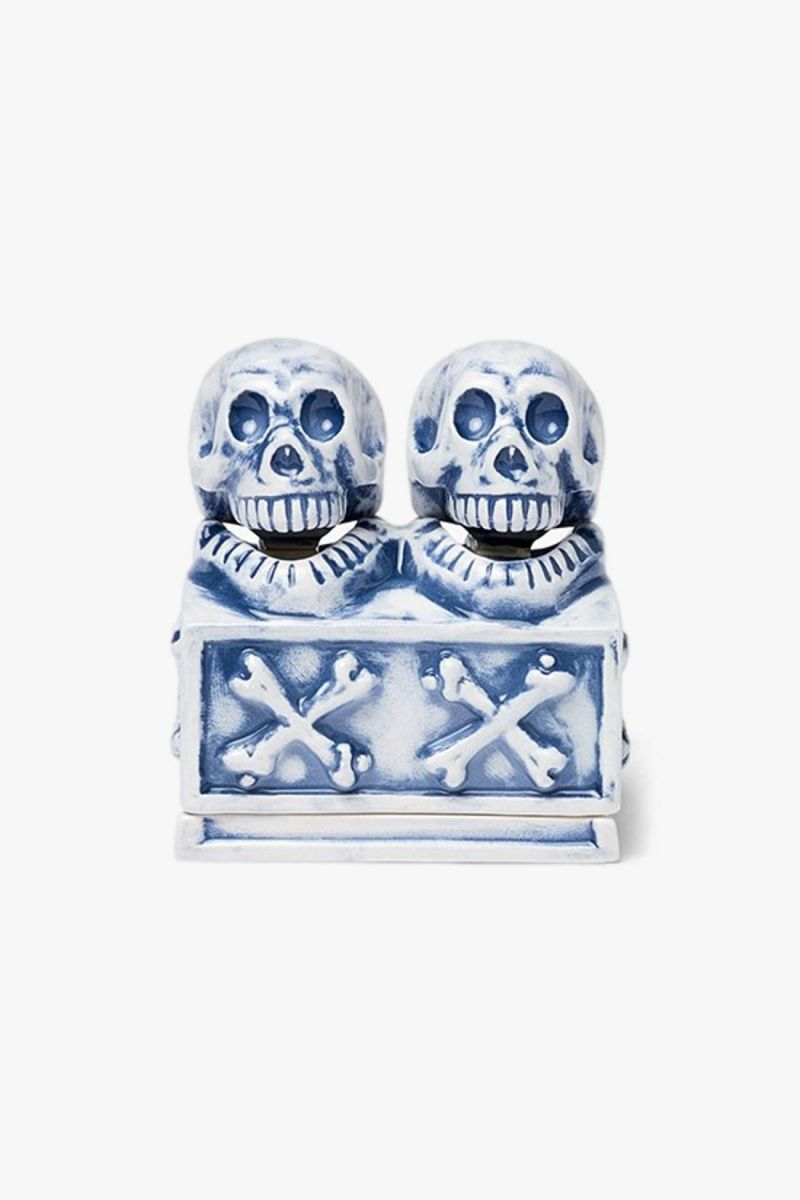 Booze dual skull / ce-incense Blue