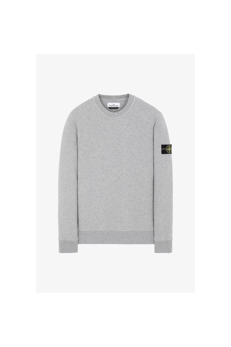 63051 crewneck sweater v0m64 Polvere melange
