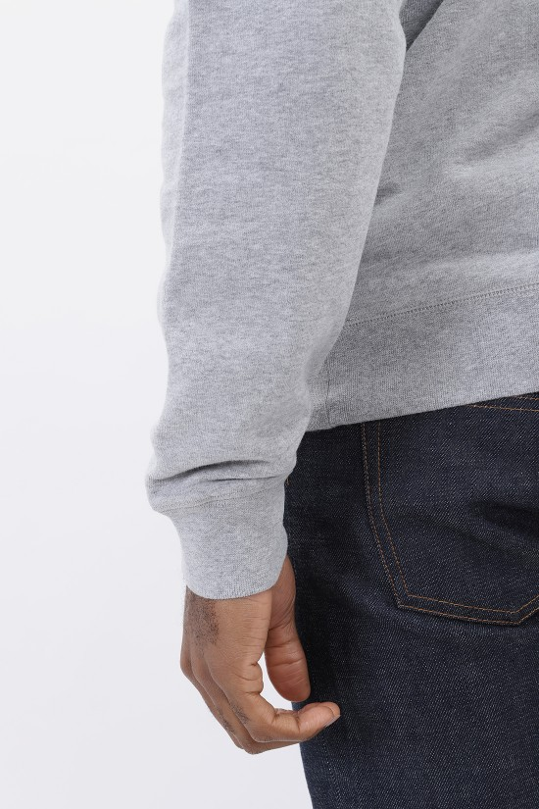 SUNSPEL / Sweatshirt Grey melange