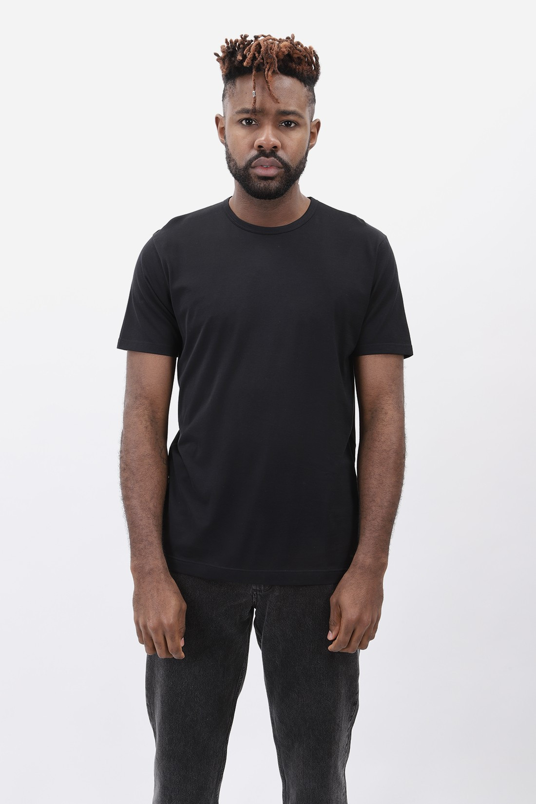 SUNSPEL / Ss crew neck t-shirt Black