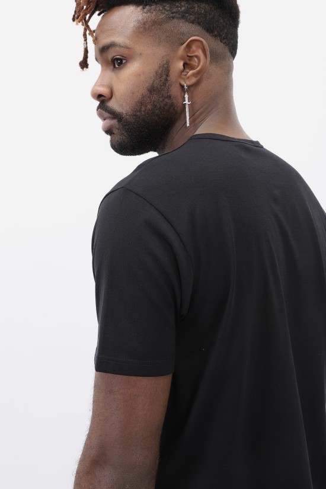 SUNSPEL / Ss crew neck t-shirt Black