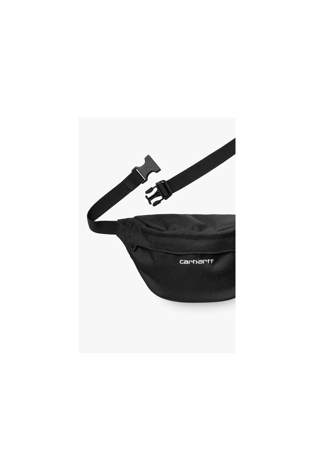 CARHARTT WIP / Payton hip bag Black white