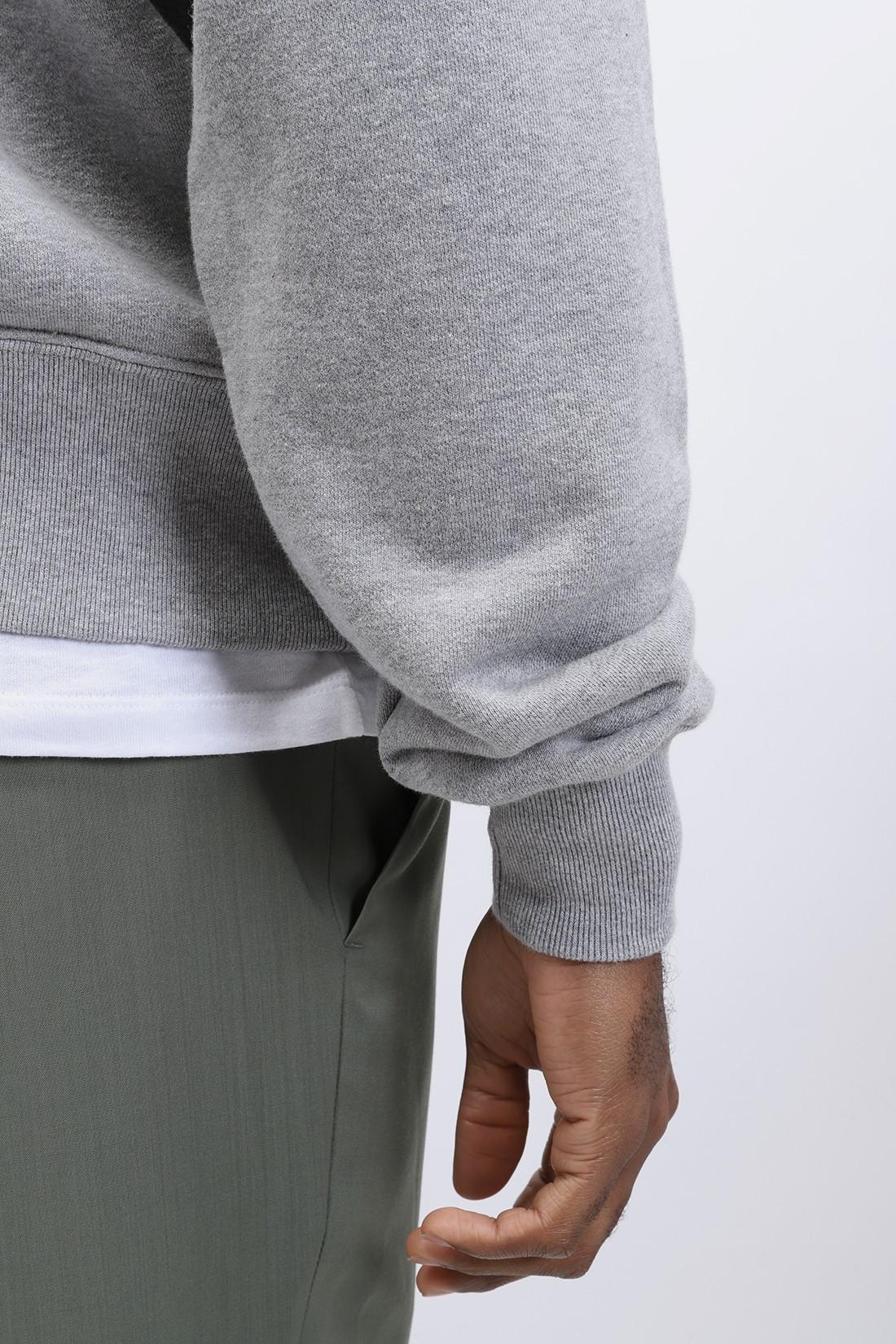 EDWIN / Raglan sleeve crewneck Maruva gray