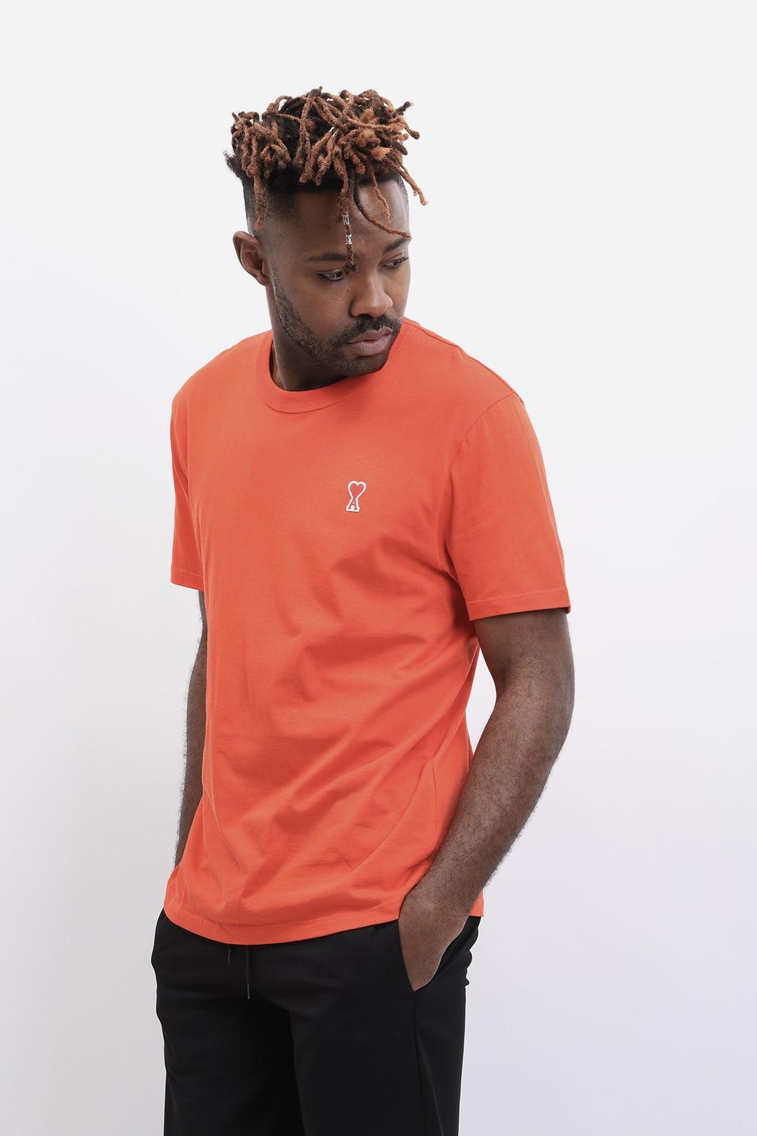 AMI / T-shirt ami de cœur Rouge