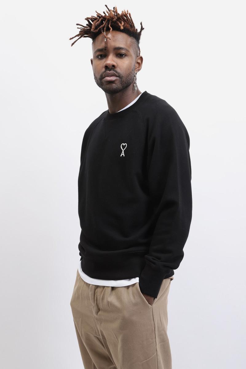 Sweatshirt ami de cœur Noir