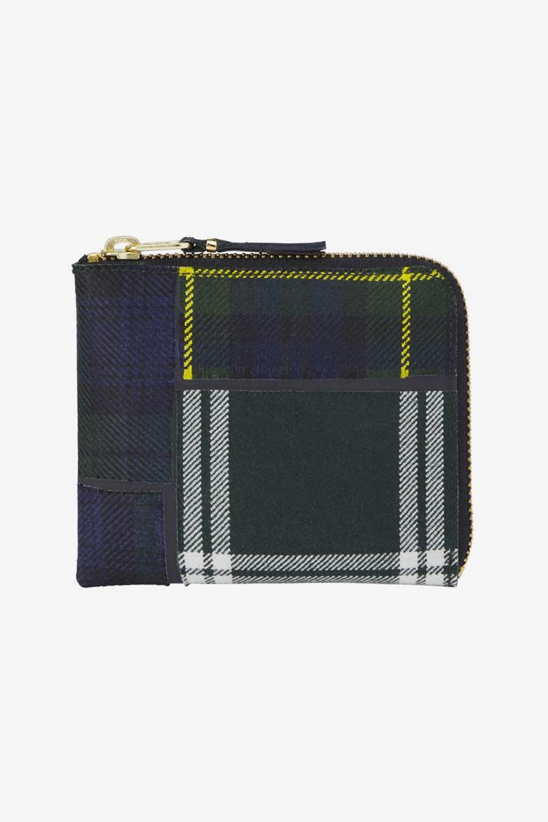 Cdg wallet tartan sa3100tp Green