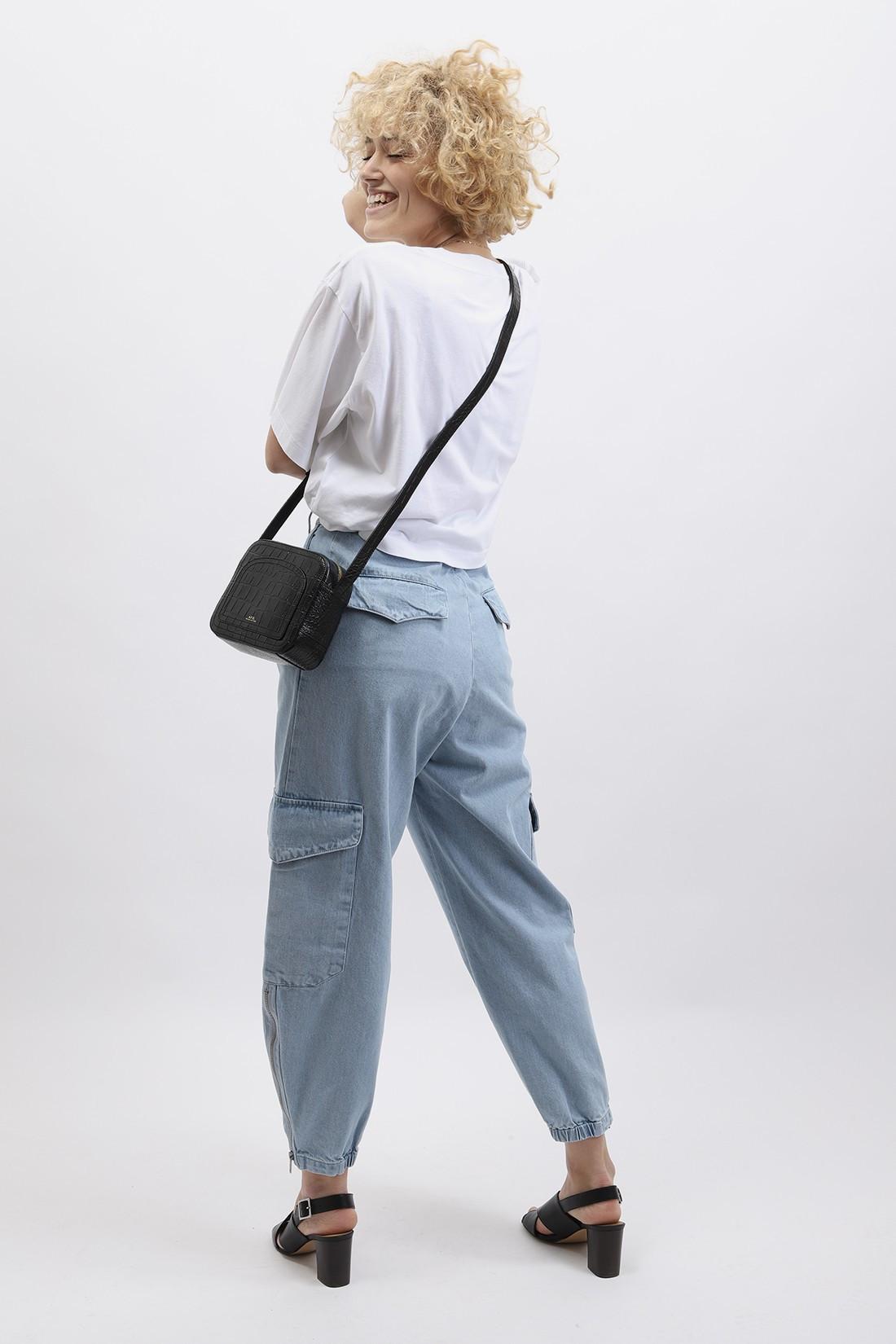BARENA FOR WOMAN / Trousers cargo Ghiaccio