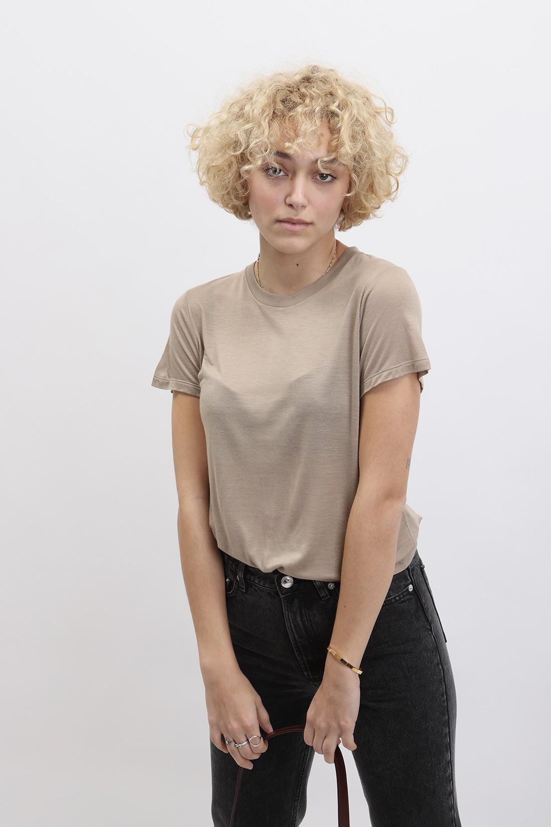 BASERANGE / Tee shirt Toffe