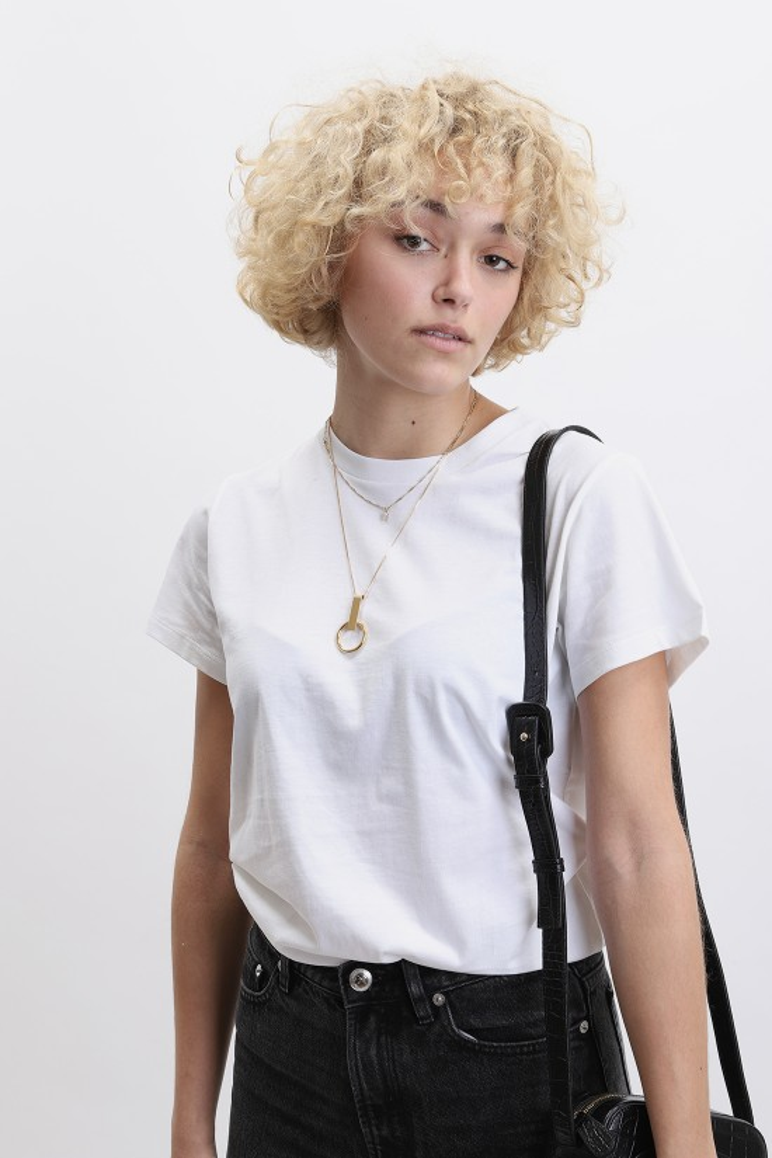 BASERANGE / Tee shirt White