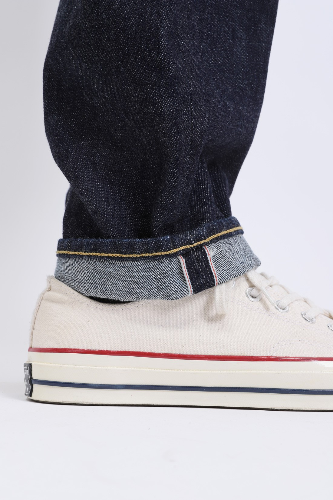 EDWIN / Ed-45 red listed selvedge Blue rinsed