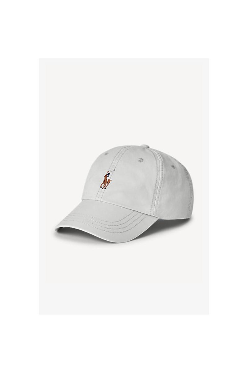 Classic sport twill cap Grey