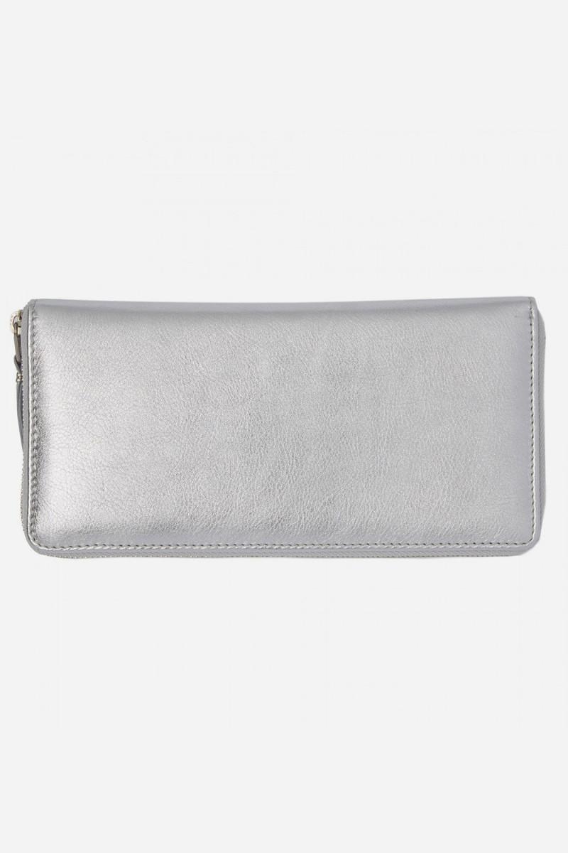 Cdg silver wallet sa0110g Silver