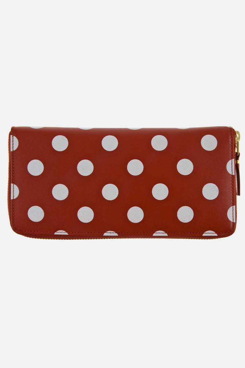 Cdg polka dots sa0110pd Red