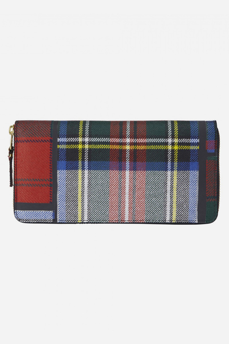 Cdg tartan patchwork sa0110tp Red