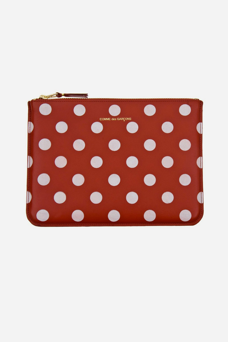 Cdg polka dots sa5100pd Red
