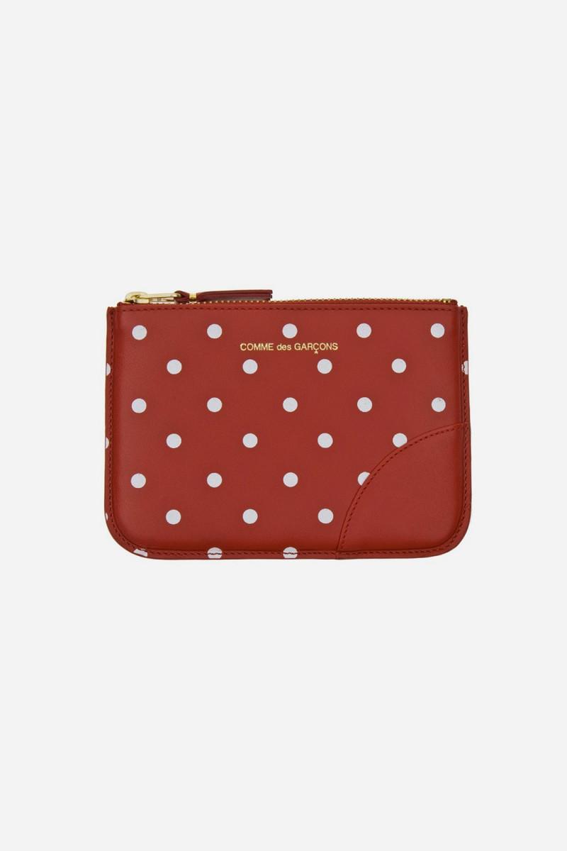 Cdg polka dots sa8100pd Red