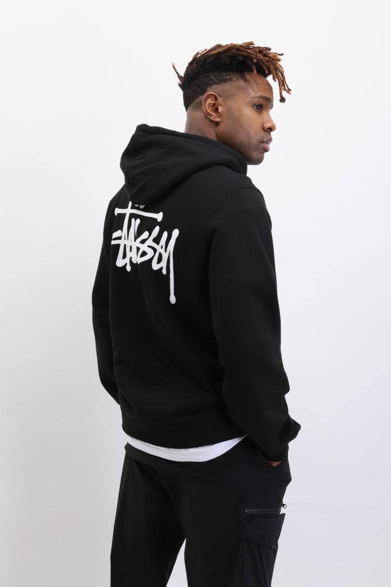 Basic stussy hood Black
