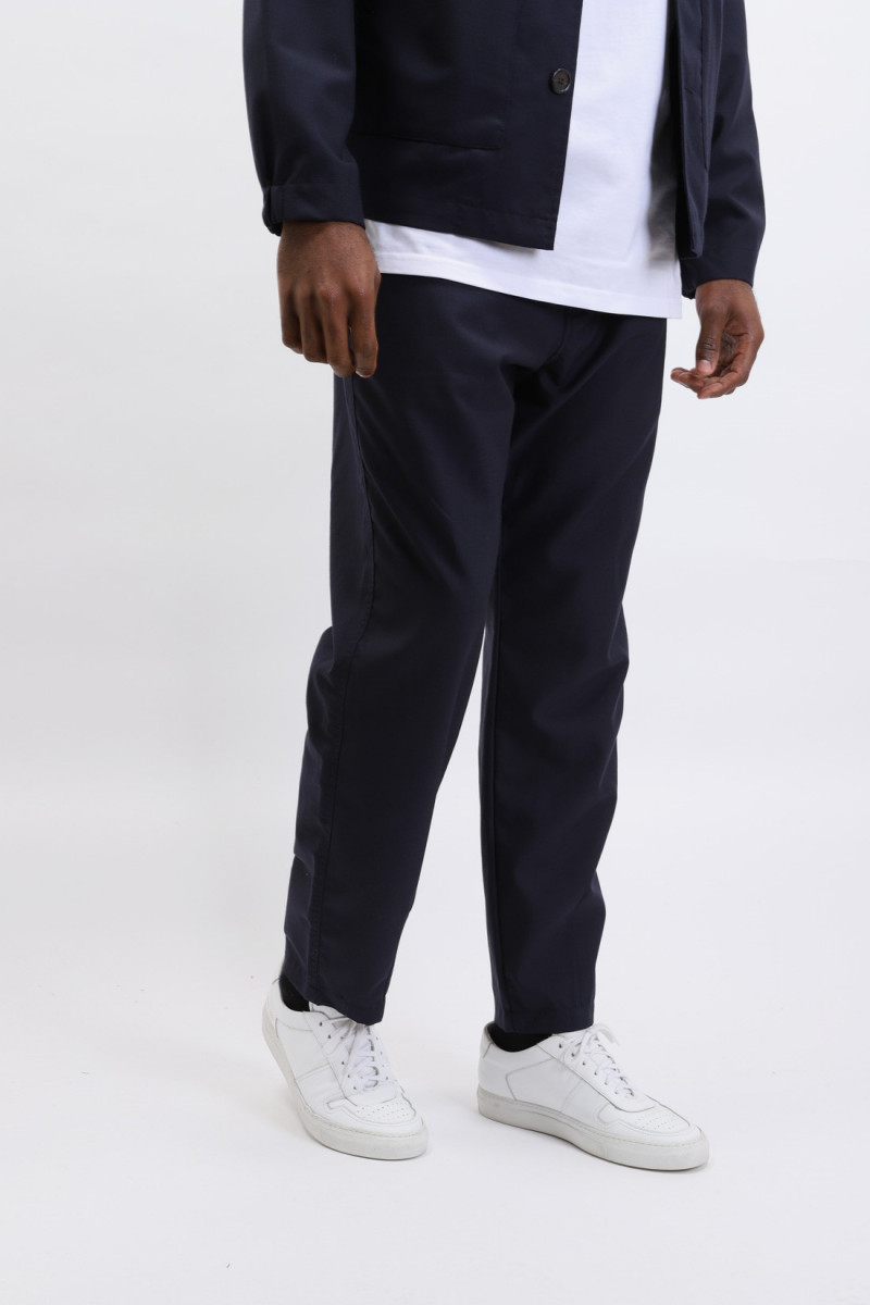 Track trouser tropical Navy