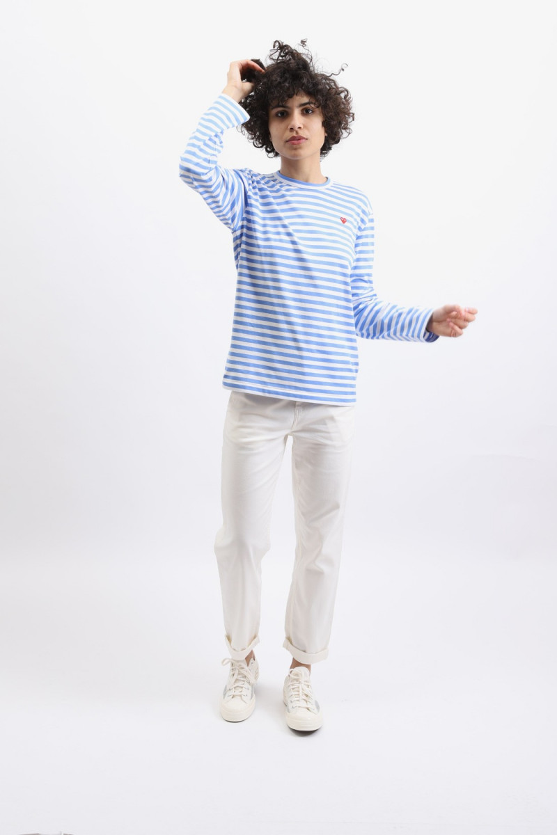 Play striped t-shirt Blue