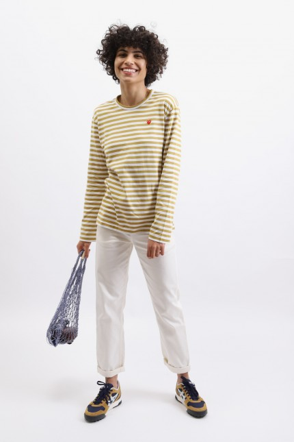 Play striped t-shirt Olive