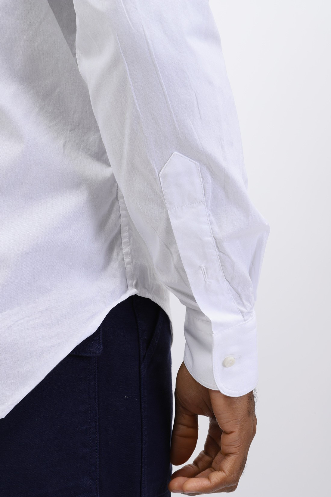 GITMAN / Button down shirt oxford White