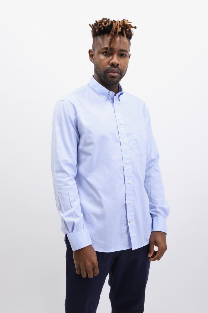 Button down shirt oxford Blue