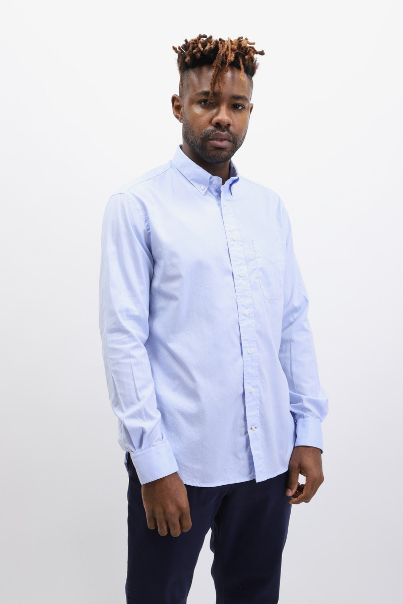 Button down shirt oxford Blue