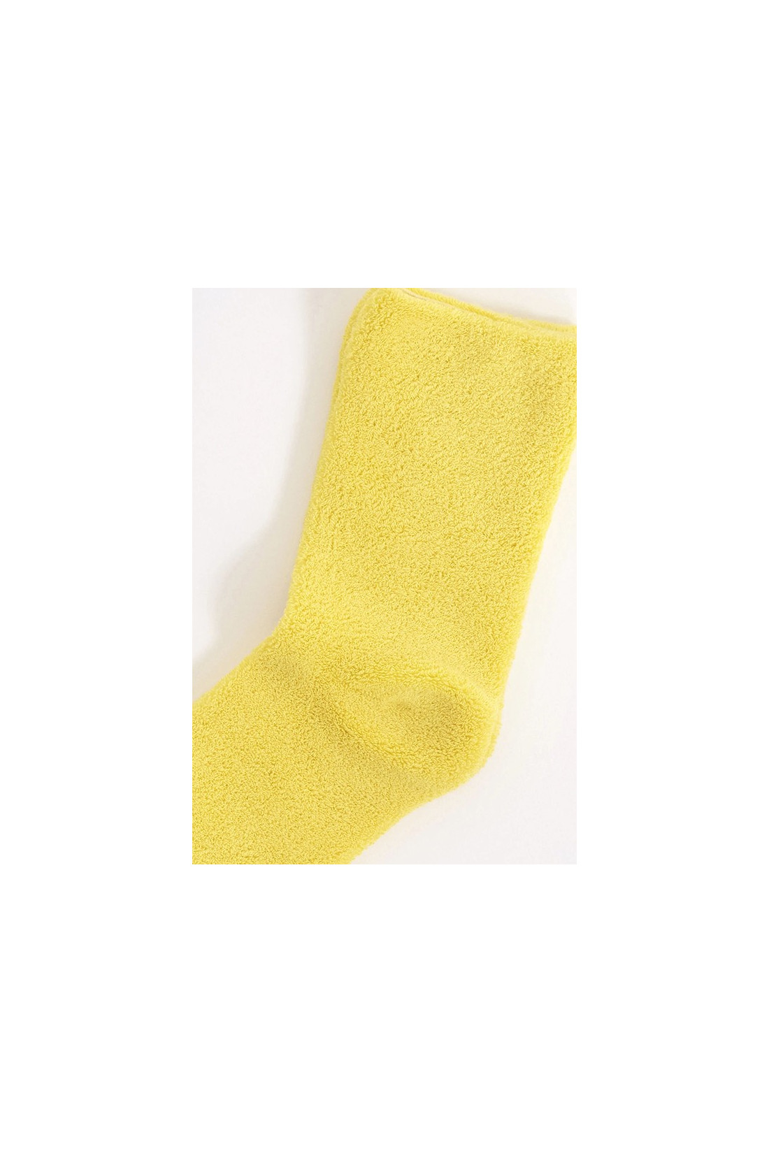 BASERANGE / Buckle ankle socks Giallo