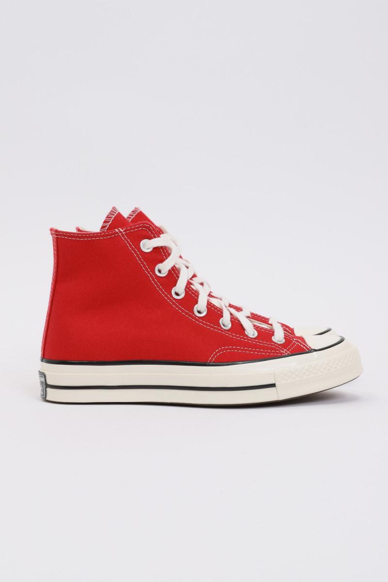 Ctas 70's hi Enamel red
