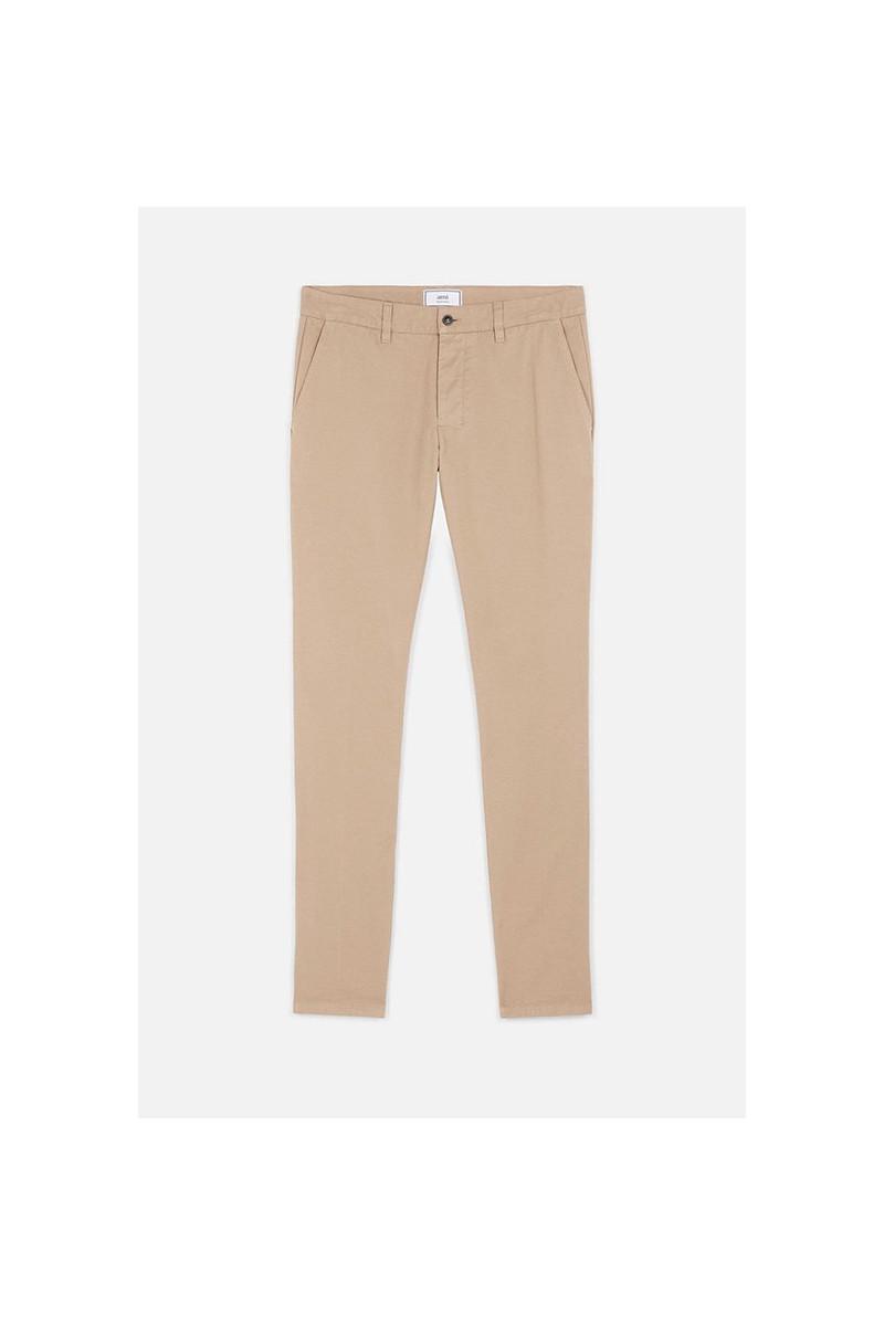 Pantalon chino Argile