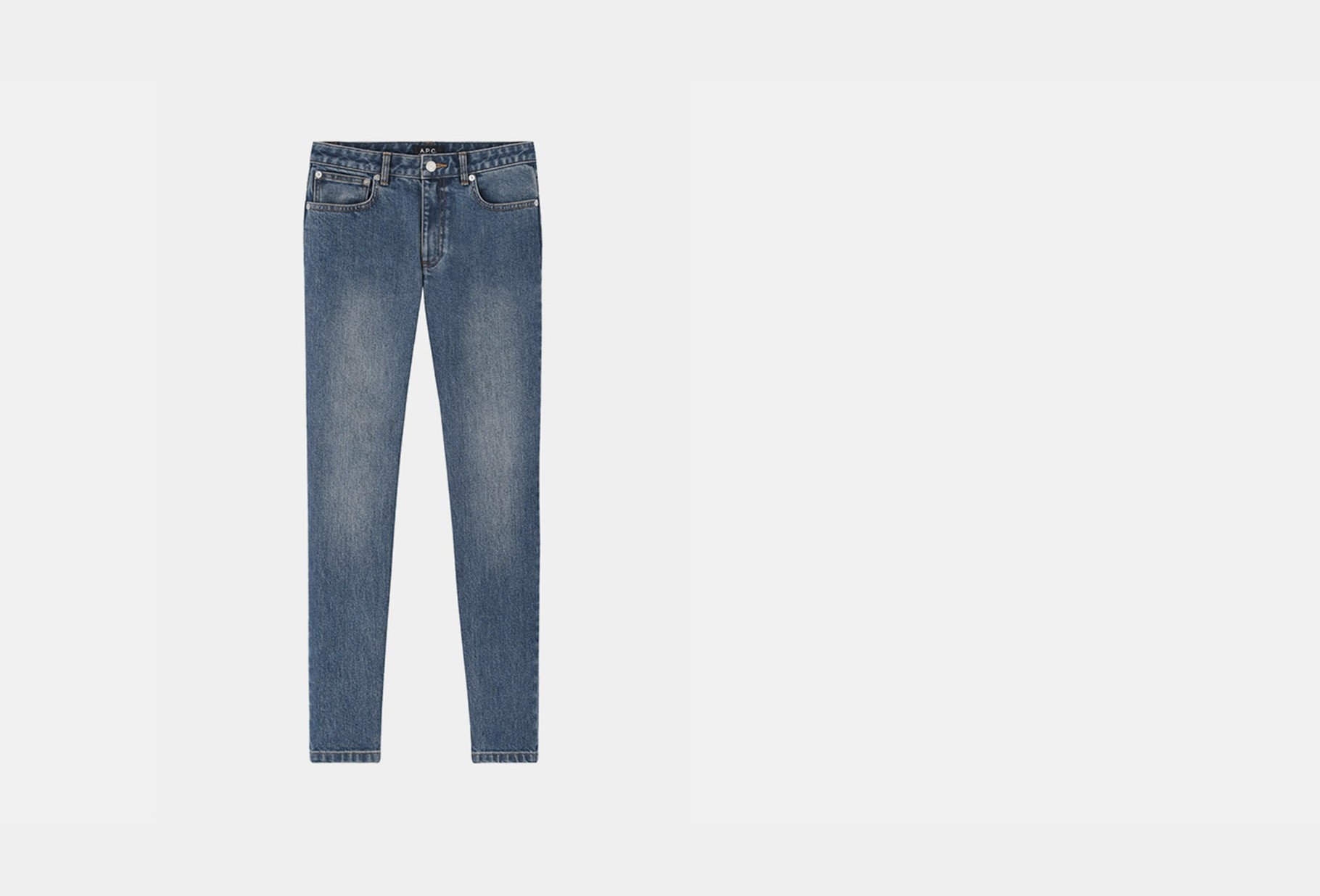 A.P.C. FOR WOMAN / High standard Indigo delave