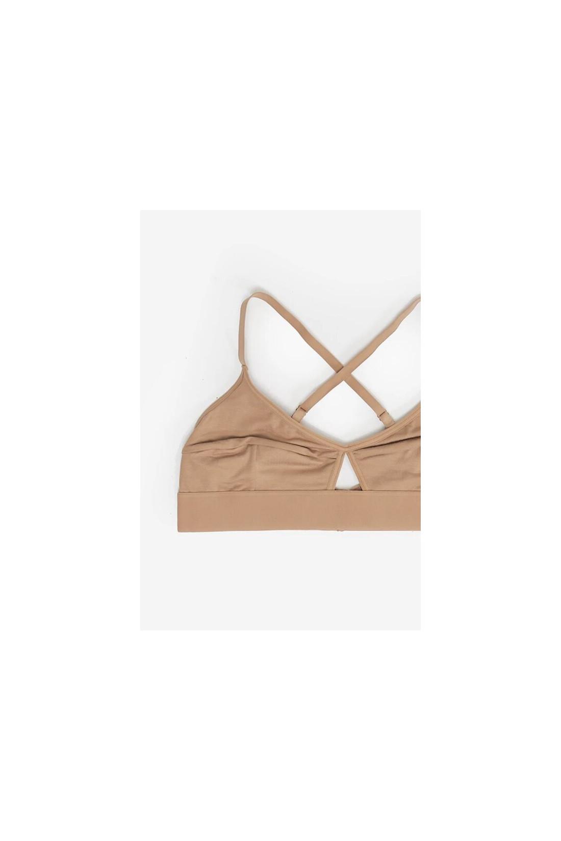 BASERANGE / Lady bra Nude