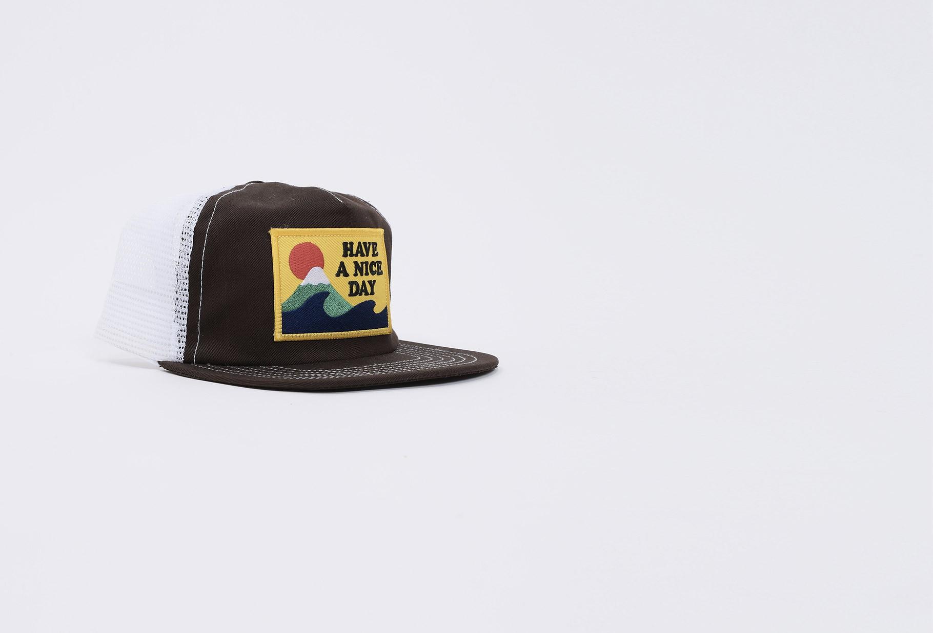 BATTENWEAR / Club cap Brown x tan