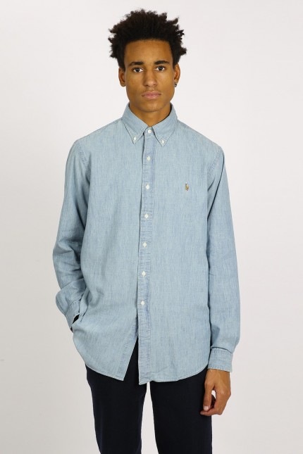 Denim shirt Light blue