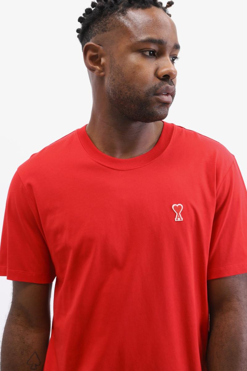 T-shirt ami de coeur Rouge