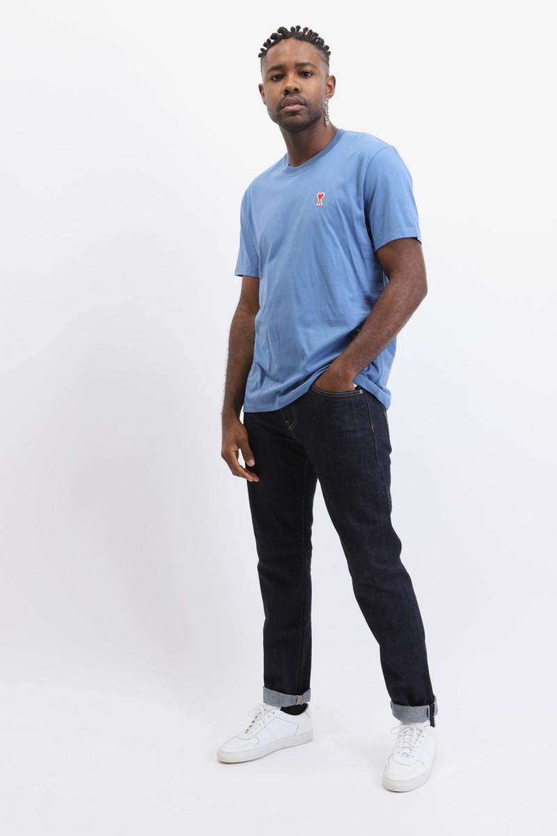 T-shirt ami de coeur Bleu