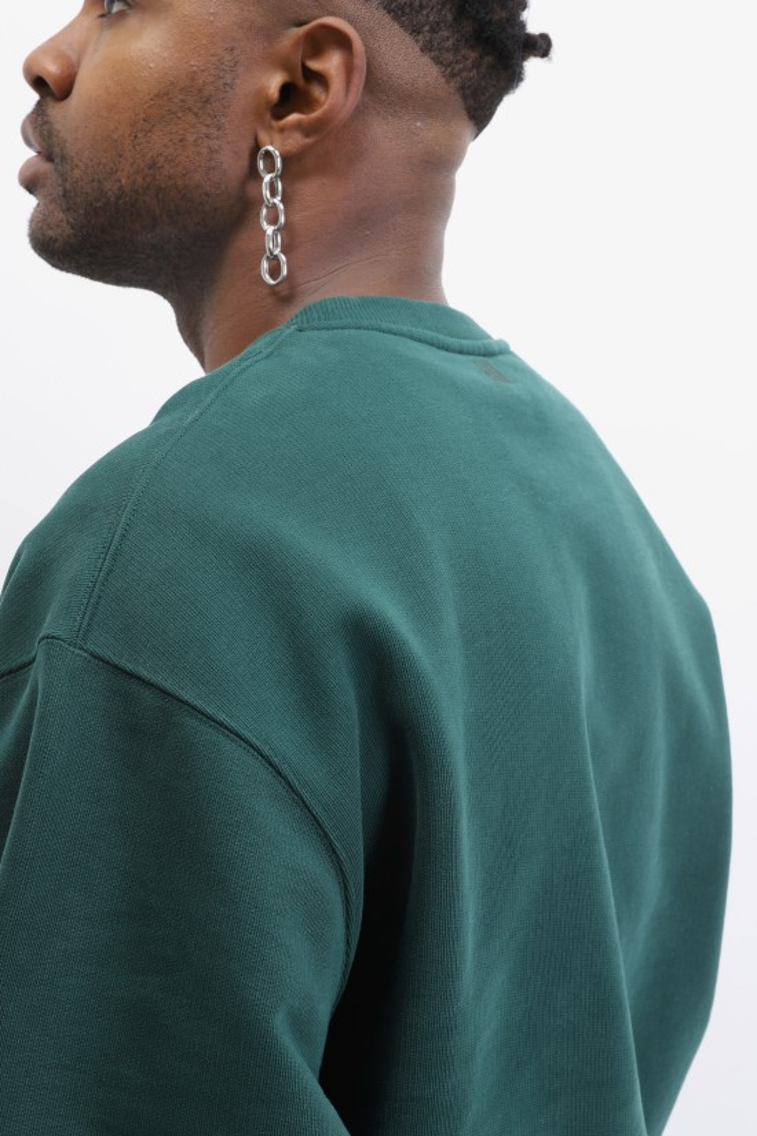 AMI / Sweatshirt ami de coeur Vert