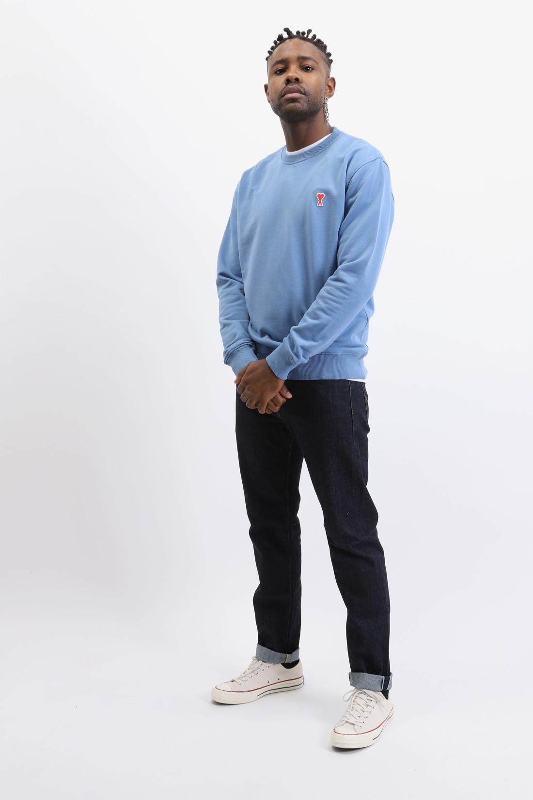 AMI / Sweatshirt ami de coeur Bleu