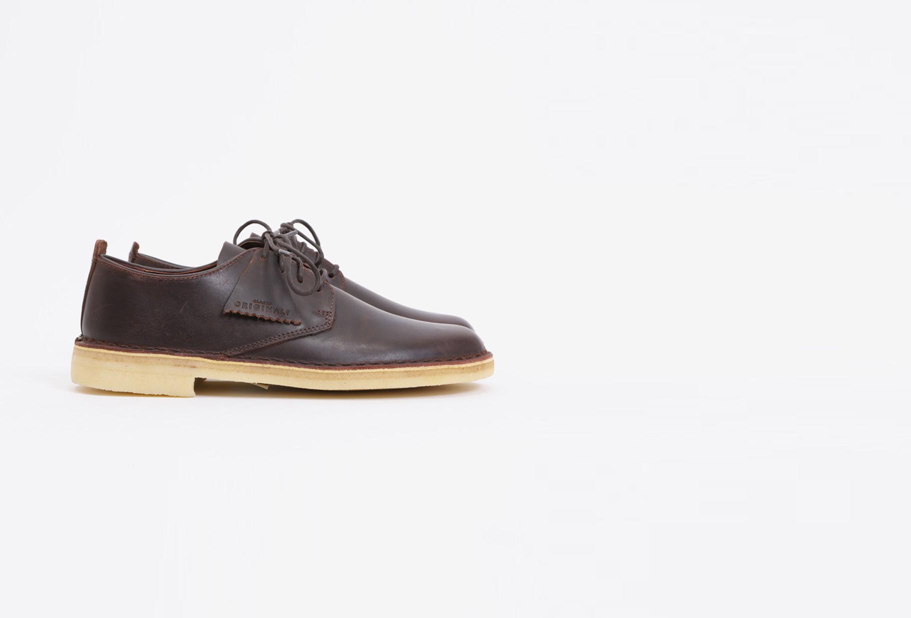 CLARKS ORIGINALS / Desert london Chestnut leather