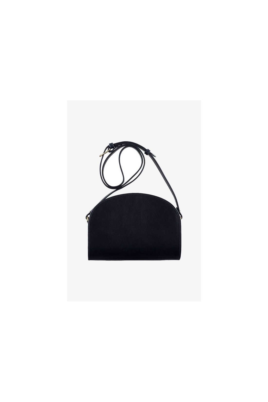 A.P.C. FOR WOMAN / Sac demi-lune Noir