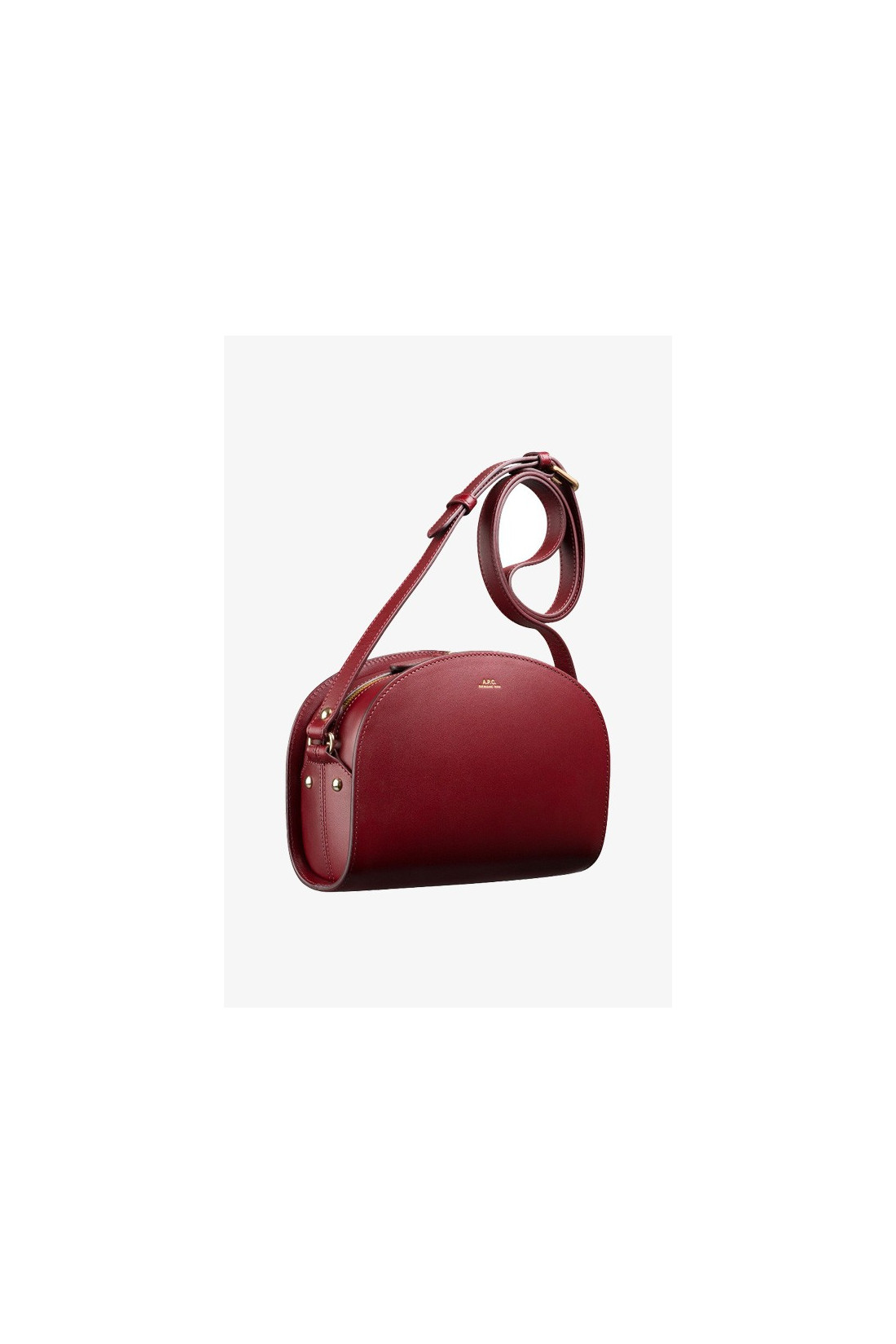 A.P.C. FOR WOMAN / Sac demi-lune Vino