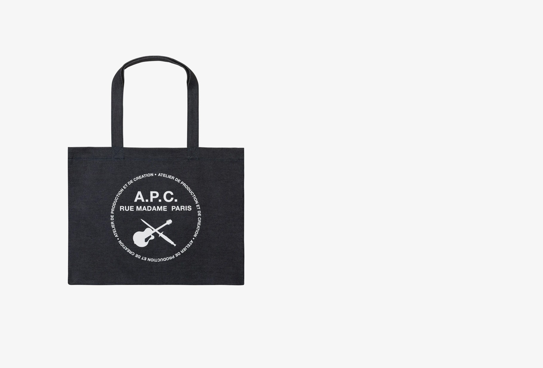 A.P.C. / Shopping guitare poignard Indigo