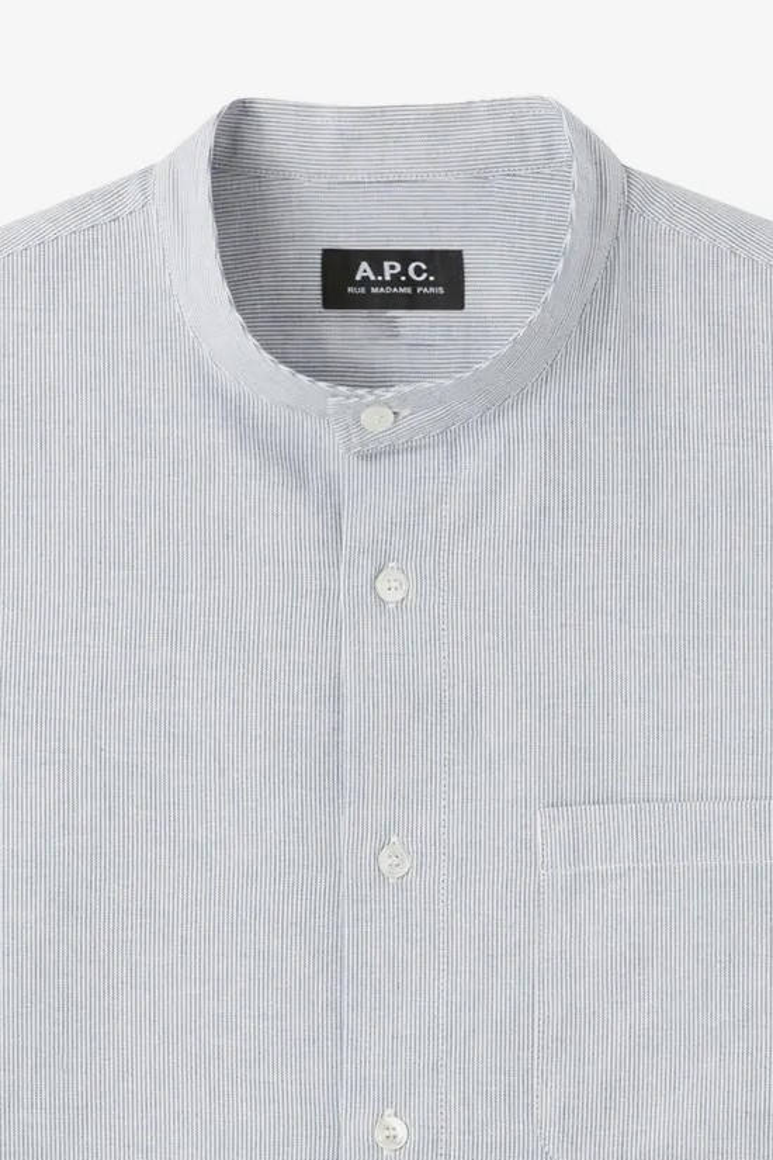 A.P.C. / Chemise mark Bleu fonce