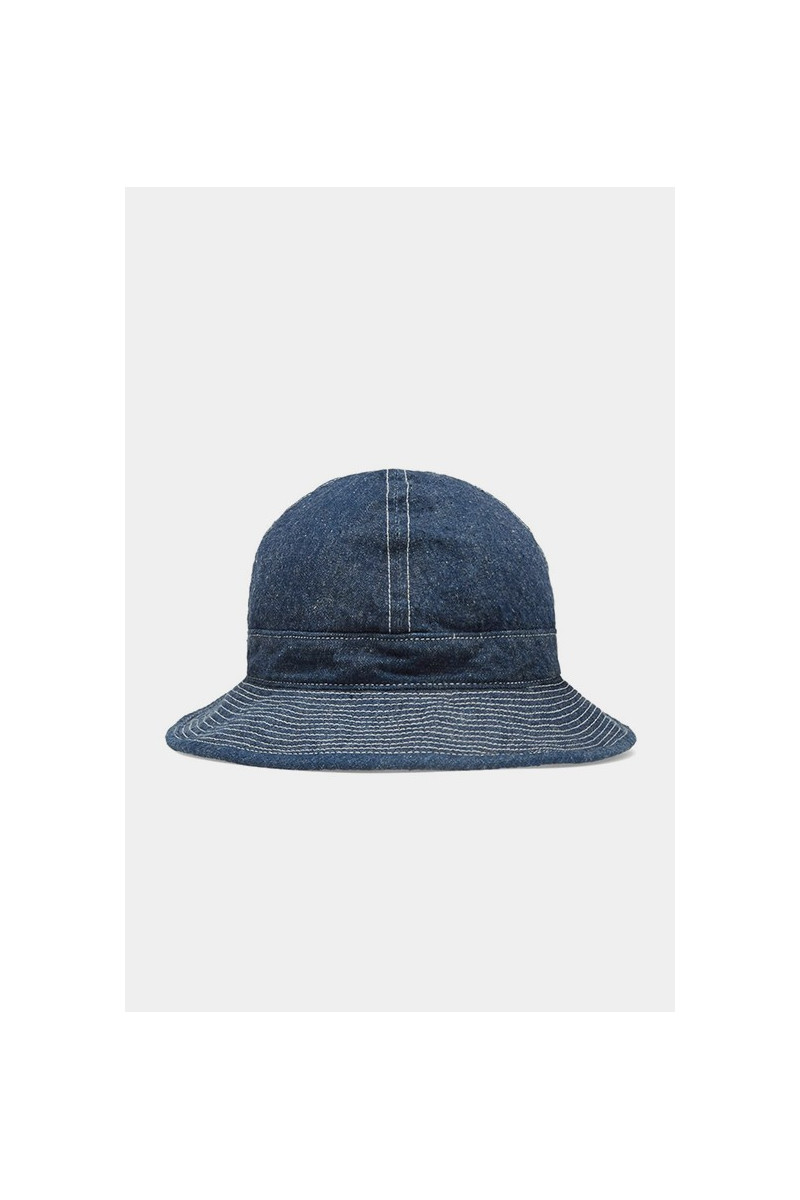 One wash us navy hat Indigo