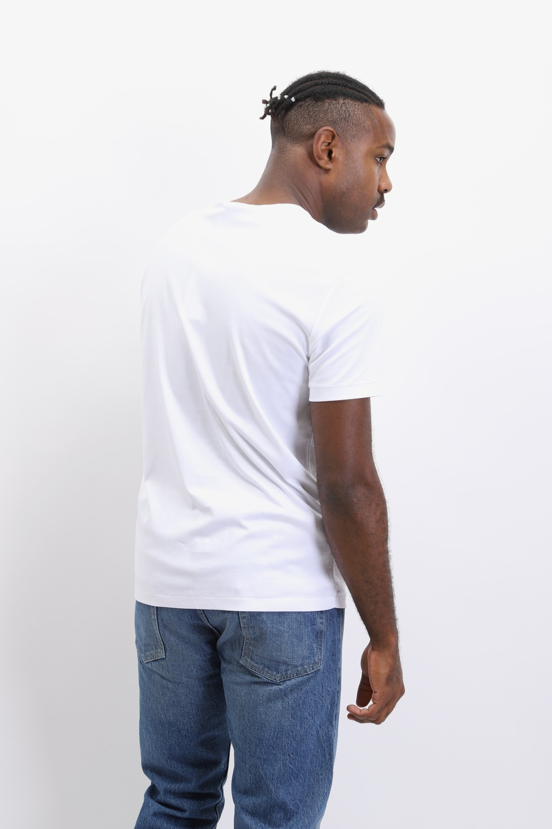 POLO RALPH LAUREN / Custom slim fit tshirt White